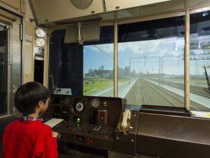 シミュレーターが充実!電車とバスの博物館でみんな運転手になれる