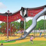 ボーネルンドプロデュースの広大な屋外遊び場が生駒山上遊園地に7月オープン