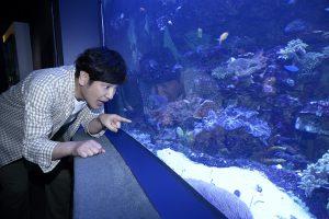 ココリコ田中直樹さんに聞く(1) 水族館がもっと楽しくなる回り方