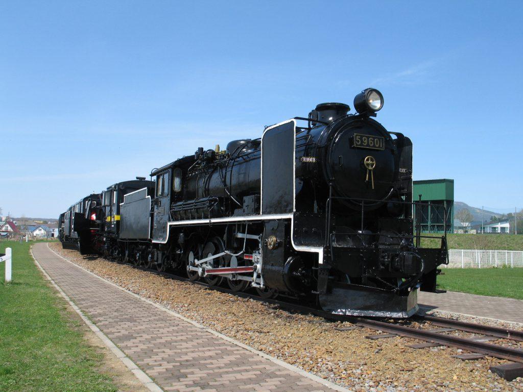 SL排雪列車「キマロキ」を屋外展示/名寄市北国博物館(北海道名寄市)