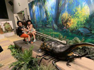 昆虫になりきって力試し!体験型コンテンツが充実の「変身!昆虫スゴわざ展2019」開催中!