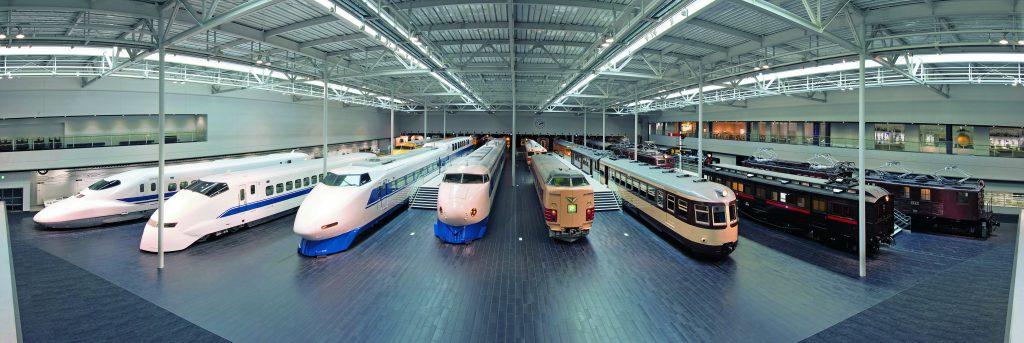 世界最速の3両や新幹線等の車両展示/リニア・鉄道館(愛知県/名古屋市)
