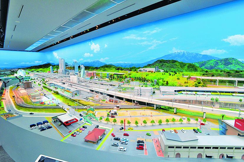 JR東海の車両が走るジオラマ模型/リニア・鉄道館(愛知県/名古屋市)