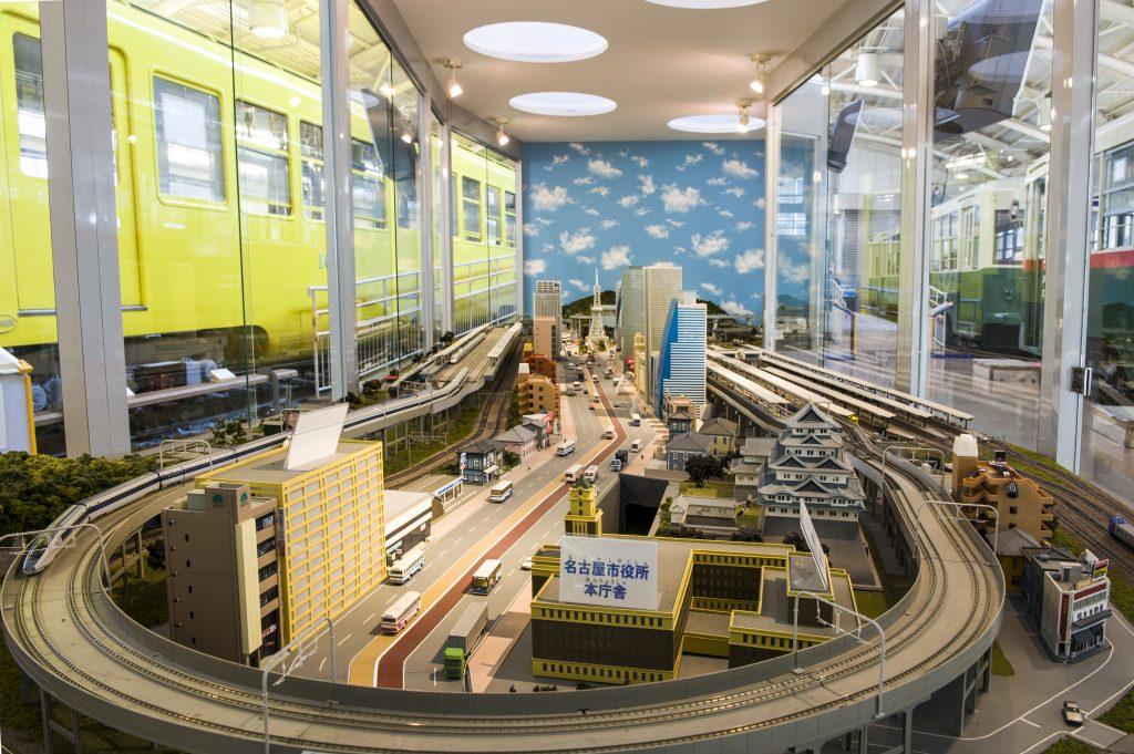 ジオラマ模型/名古屋市市電・地下鉄保存館 レトロでんしゃ館(愛知県/日進市)