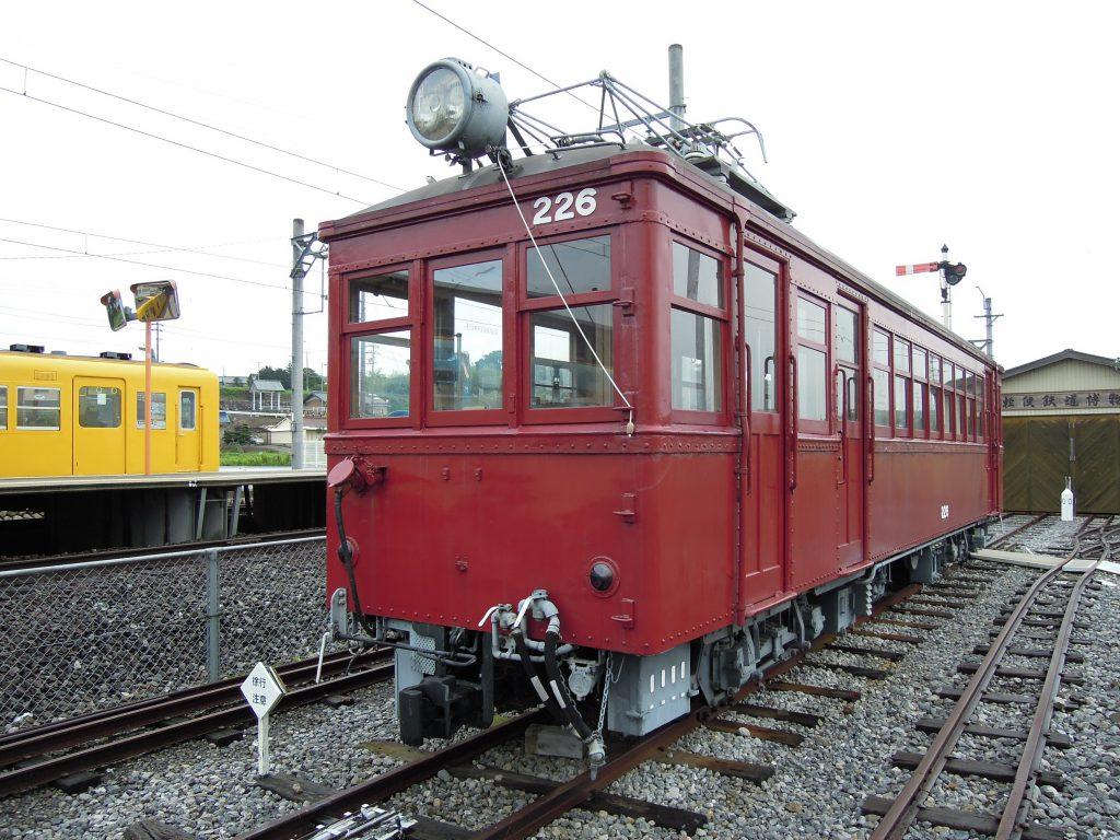 展示車両「モニ220形226」/軽便鉄道博物館(三重県/いなべ市)