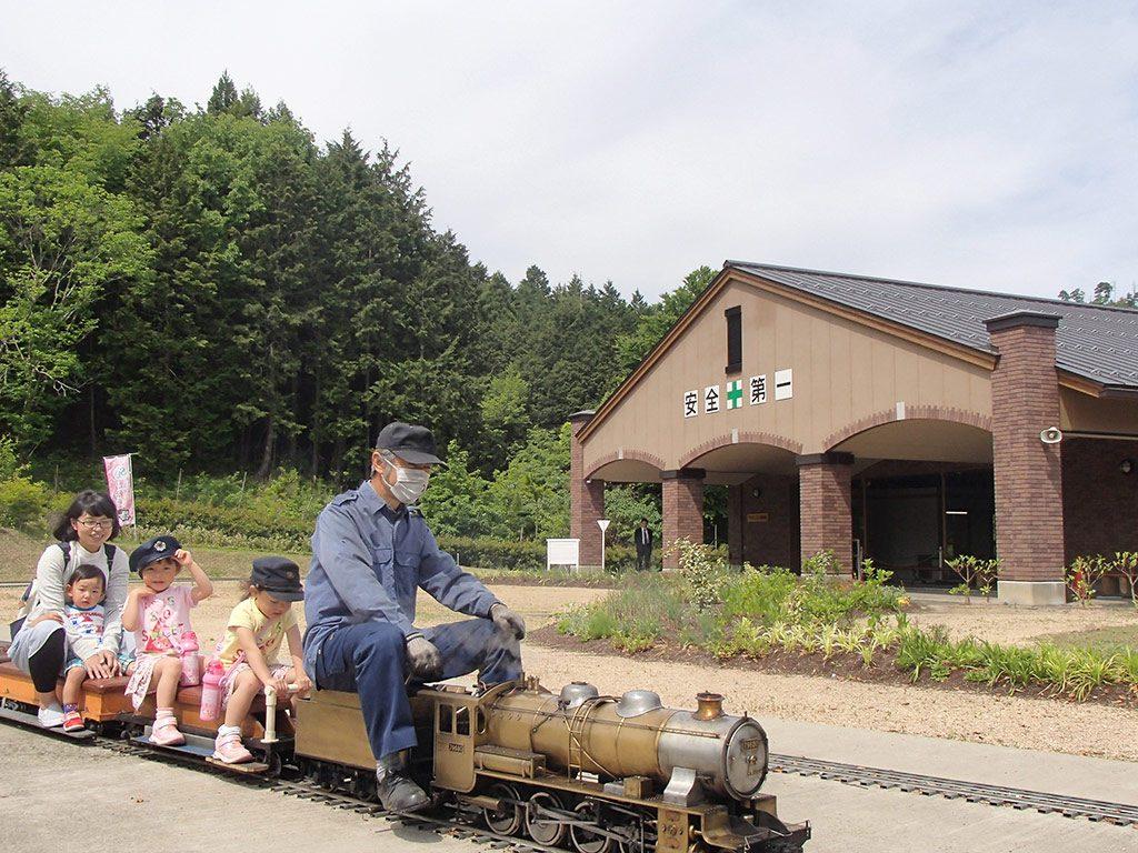 週末はミニSLの乗車体験も/やずミニSL博物館(鳥取県/八頭郡八頭町)