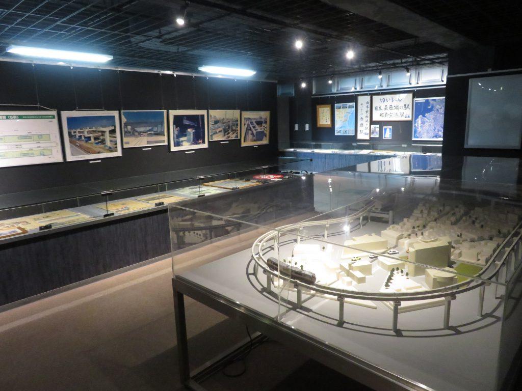 ゆいレールの鉄道模型や資料の展示/ゆいレール展示館(沖縄県/那覇市)