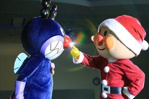 横浜アンパンマンミュージアムでクリスマスイベント開催中!寒くても雨でも大丈夫